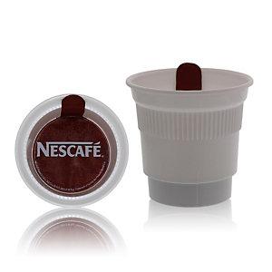 CUPÉO Lot de 20 Gobelets operculés pré-dosés- Nescafé spécial filtre sans sucre