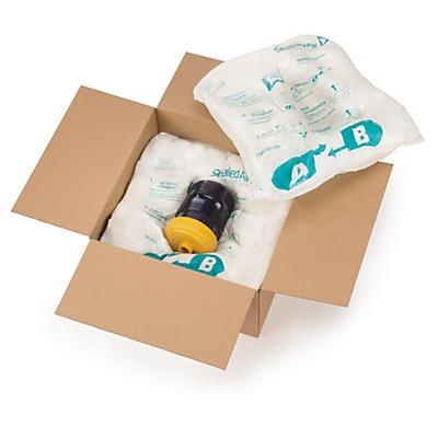Cuscini in schiuma da imballaggio bianchi Instapack