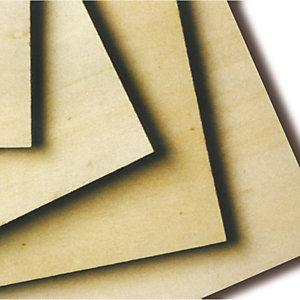 CWR Compensato di pioppo - 30x40cm - spessore 4mm - CWR
