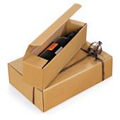 Darčekové krabice na fľaše