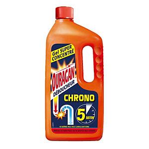 Déboucheur liquide Ouragan Chrono 1 L