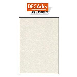 DECAdry Carta da lettere A4 per Fotocopiatrici, Stampanti Laser e Inkjet, 95 g/m², Pergamena Champagne (confezione 25 fogli)