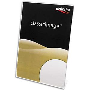 DEFLECTO Porte affiche transparent pour documents A6 incliné