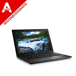 Dell Notebook 7280, I5 6300, 8GB, 128SSD, Webcam, Win 10 pro mar, Ricondizionato Classe A