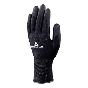 DELTA PLUS Guanti High-Tech in fibra DELTAnocut®, Spalmatura poliuretano su palmo e punta delle dita, Taglia 10