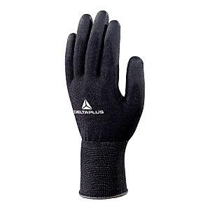 DELTA PLUS Guanti High-Tech in fibra DELTAnocut®, Spalmatura poliuretano su palmo e punta delle dita, Taglia 7