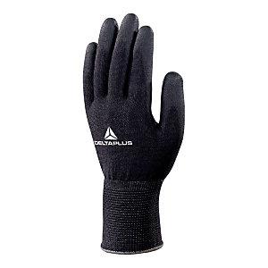 DELTA PLUS Guanti High-Tech in fibra DELTAnocut®, Spalmatura poliuretano su palmo e punta delle dita, Taglia 9