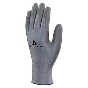 DELTA PLUS Guanti High-Tech in fibra DELTAnocut®, Spalmatura poliuretano su punta delle dita, Taglia 9