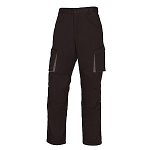 DELTA PLUS Pantalon de travail noir et gris Mach 2 Deltaplus, taille L