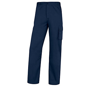 DELTAPLUS Pantalone da lavoro Palaos Paligpa - cotone - taglia L - blu - Deltaplus