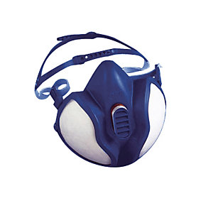 Demi-masque de protection FFABEK1P3D, 3M