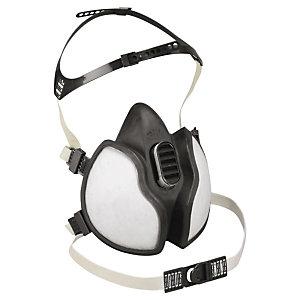 Demi-masque respiratoire jetable 4000 3M   RAJA df70fdb51a49