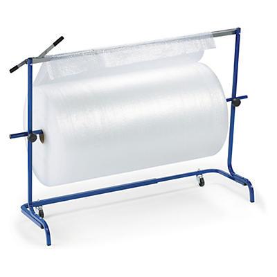 Dérouleur-coupeur horizontal télescopique  pour film bulles