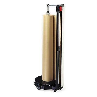 Dérouleur-coupeur vertical mobile et polyvalent Hüdig + Rocholz