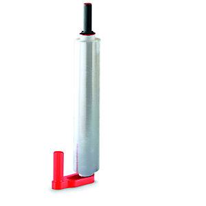 Dérouleur manuel de film étirable - Pour bobines 45 et 50 cm - Plastique - Rouge