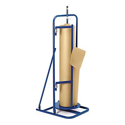 Dérouleur vertical à plateau tournant pour papier kraft##Vertikaler Abrollständer