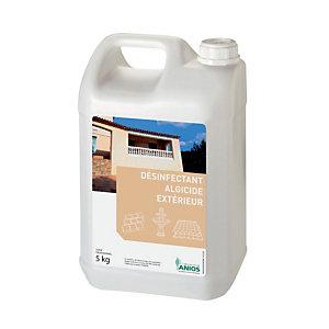 Désinfectant algicide extérieur Anios, bidon de 5 L