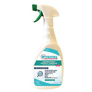 Désinfectant mains et surfaces Wyritol, spray 750 ml