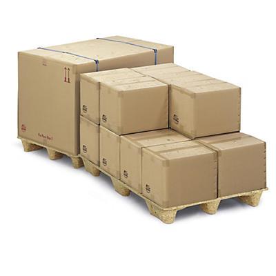 Déstockage : Caisse carton Pa Poo Box imperméable, adaptée aux expéditions maritimes