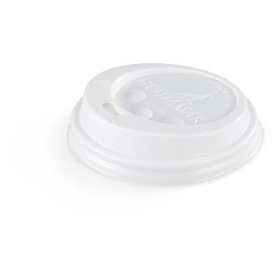 Déstockage : Couvercle plastique pour gobelets##Uitverkoop: Plastic deksel voor kartonnen bekers