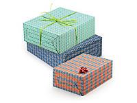Déstockage : Papier cadeau 100 % recyclé Retro