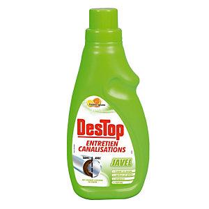 Destop entretien canalisation javel 4 en 1 - 750 ml