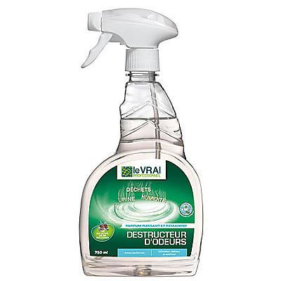 Destructeur d'odeurs désinfectant LE VRAI