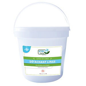 Détachant linge Action Verte Ecocert, seau de 2 kg