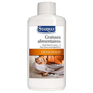 Détachant textile Starwax pour taches grasses alimentaires 200 ml