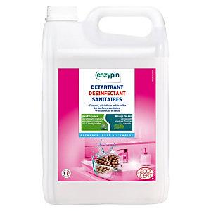 Détartrant désinfectant sanitaires écologique Enzypin fleuri 5 L