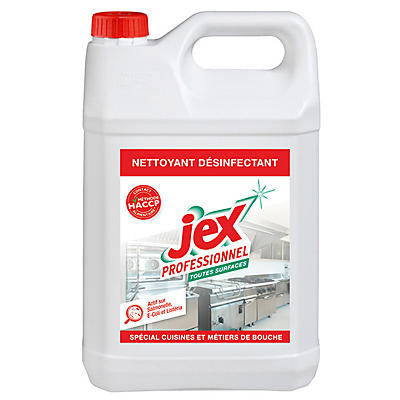 Détergent désinfectant alimentaire JEX