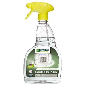 Détergent désinfectant HACCP Bactopin Plus Le Vrai vaporisateur 750 ml