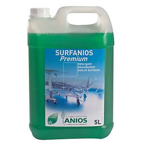 Détergent désinfectant Surfanios premium Anios, 2 bidons de 5 L