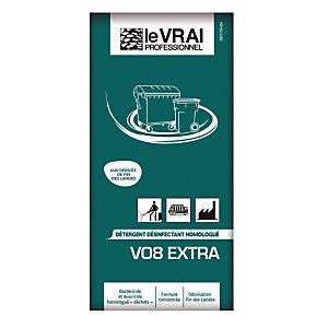 Détergent désinfectant V08 Extra Le Vrai pin des landes 50 doses de 40 ml