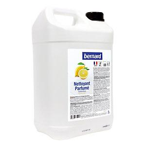 Détergent parfumé HACCP Bernard citron 5 L
