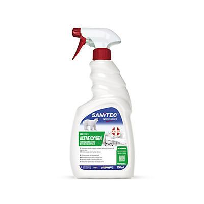 Detergente igienizzante spray con acqua ossigenata Sanitec Active Oxygen