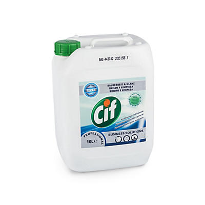Detergente limpiador profesional Cif 10L