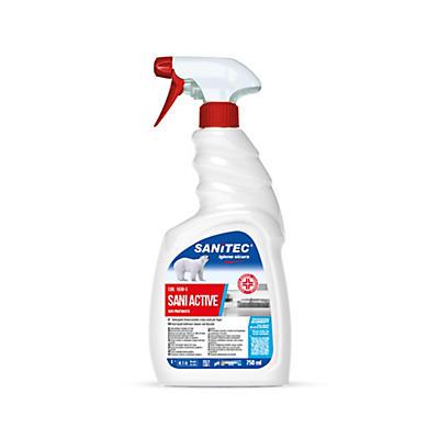 Detergente sgrassatore igienizzante spray Sanitec Sani Active