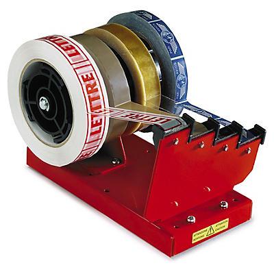 Dévidoir de comptoir pour 1, 2 ou 4 rubans adhésifs##Tafelafroller voor 1, 2 of 4 tapes