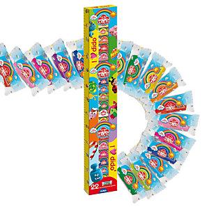 DidO' infinity - 50gr - colori assortiti e glitter - DidO' - conf. 22 pezzi