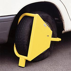 Diefstalbeveiliging wielklem voor bestelwagens.