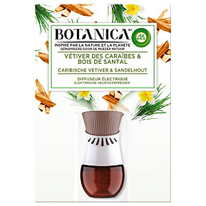 Diffuseur électrique Botanica, avec recharge, flacon de 19 ml