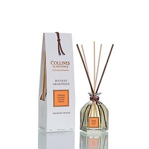 Diffusore a bastoncini ai Fiori di Arancio Collines de Provence, 100 ml