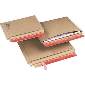 DINKHAUSER 20 Cartons-pochettes d'expédition avec remplissage transversal, B5+
