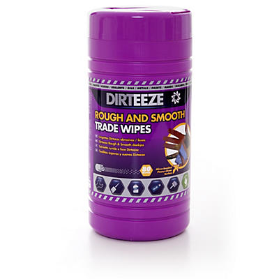 Dirteeze Rough and Smooth Wipes – Tub of 80
