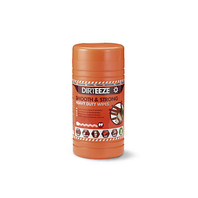 Dirteeze Smooth and Strong Wipes – Tub of 80