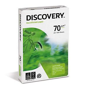 Discovery Papel Multifunción para Faxes, Fotocopiadoras, Impresoras Láser e Impresoras de Inyección de Tinta Blanco A4 70 g/m²
