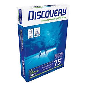 DISCOVERY Papier Multi-Usage pour Jet d'encre et Laser A3 Blanc 75 g/m² 500 Feuilles