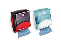 Dispenser voorgevouwen poetsdoeken