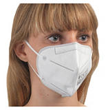 Disposable protective FFP2 face masks